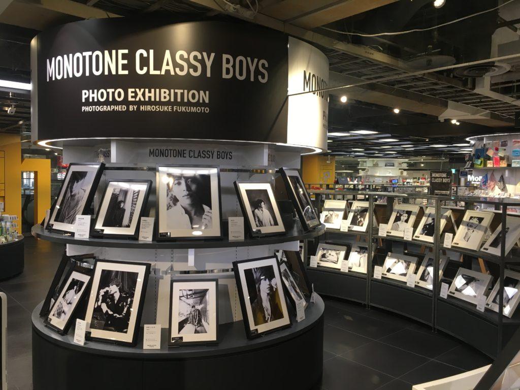 【東京】MONOTONE CLASSY BOYS PHOTO EXHIBITION PHOTOGRAPHS BY HIROSUKE FUKUMOTO IN TOKYO