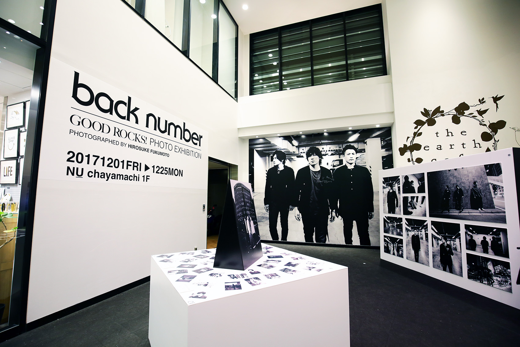 【大阪】GOOD ROCKS! back number PHOTO EXHIBITION PHOTOGRAPHED BY HIROSUKE FUKUMOTO